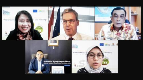 Virtual Seminar on Mainstreaming of Climate Resilience Priorities in City Planning
