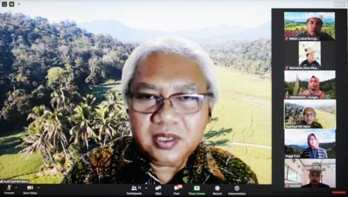 Dialogue on Indigenous People Actions to Conserve Forest