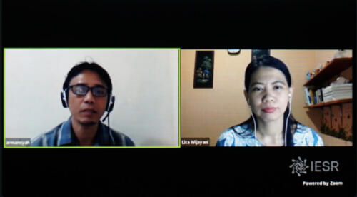 Instagram Live Session on Studying, Innovating, and Greening Jobs for the Post COVID-19 Era