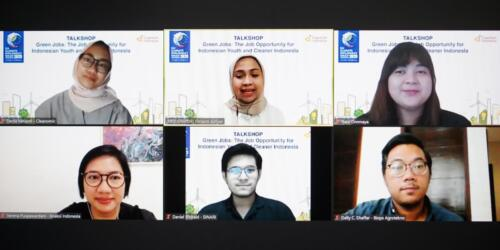 Green Jobs Talkshop: The Job Opportunity for Indonesian Youth and Cleaner Indonesia
